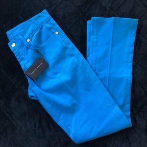 Ralph Lauren Lapis Blue Skinny Jeans NWT